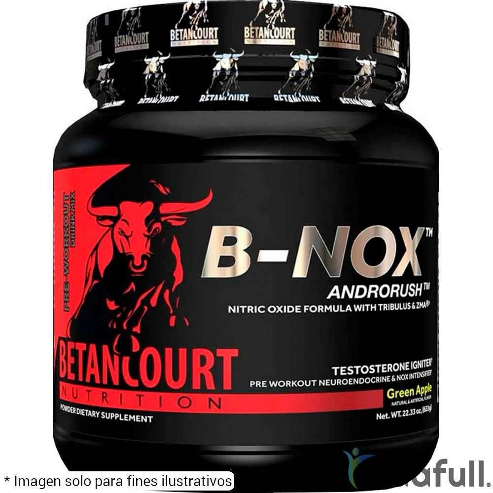 Bullnox B Nox Androrush Betancourt Pre-Entrenamiento de Betancourt Nutrition Bajar de Peso Bien