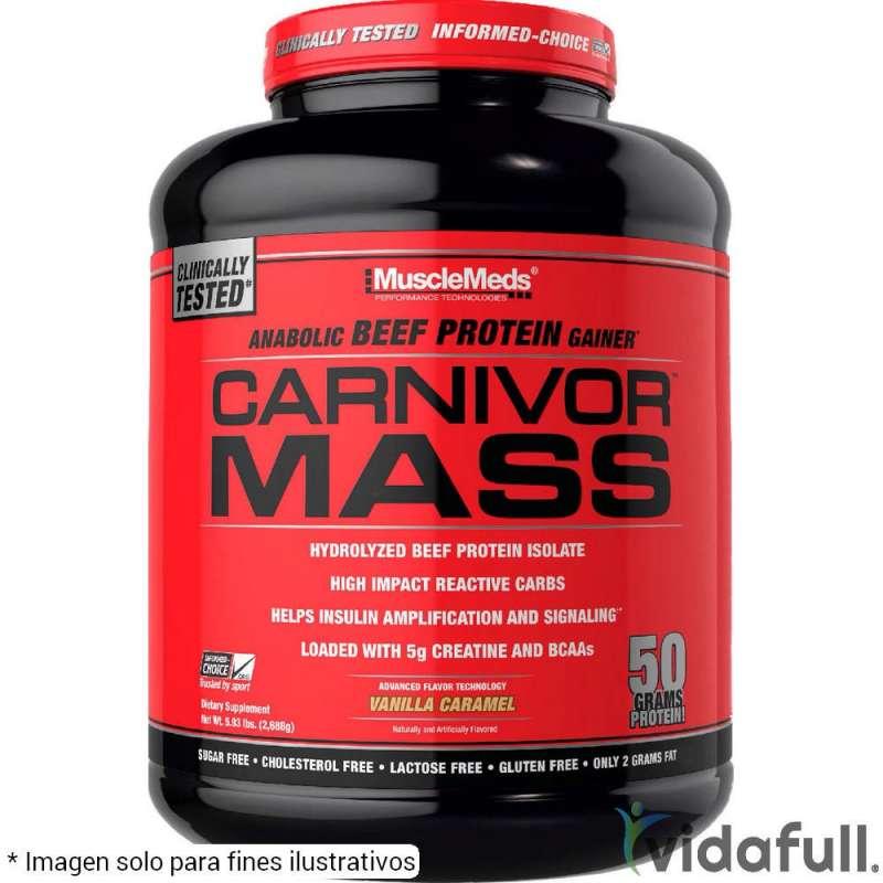 Carnivor Mass MuscleMeds 6 lb Vainilla Caramelo
