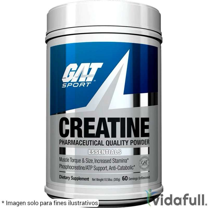 Creatina Monohidratada GAT 300 g