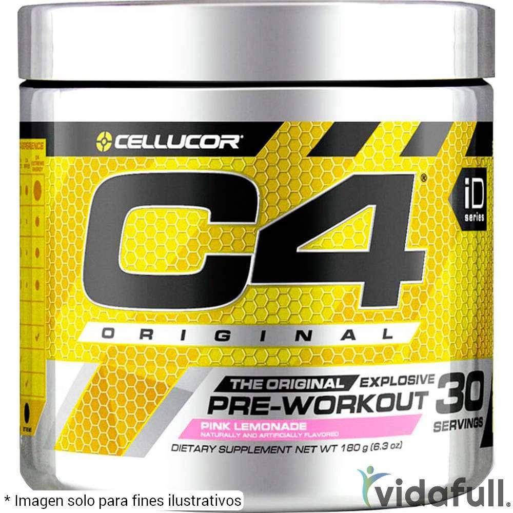 C4 Original Cellucor Pre-Entrenamiento de Cellucor Bajar de Peso Bien