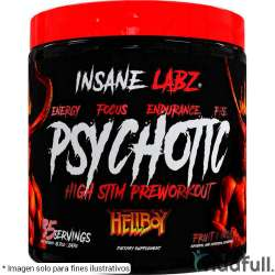 Psychotic HELLBOY Edition Insane Labz