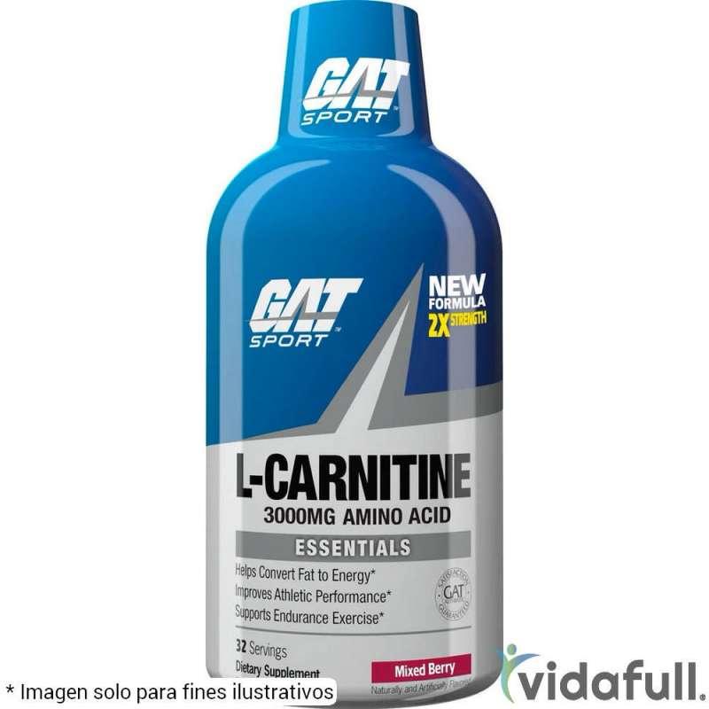L-Carnitina Líquida 3000 GAT Mora