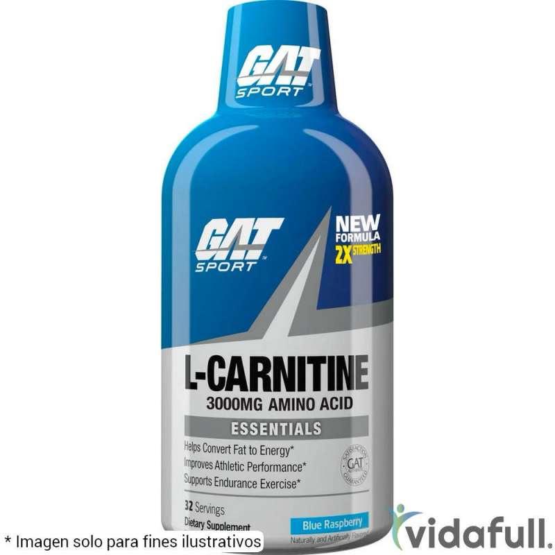 L-Carnitina Líquida 3000 GAT Mora Azul