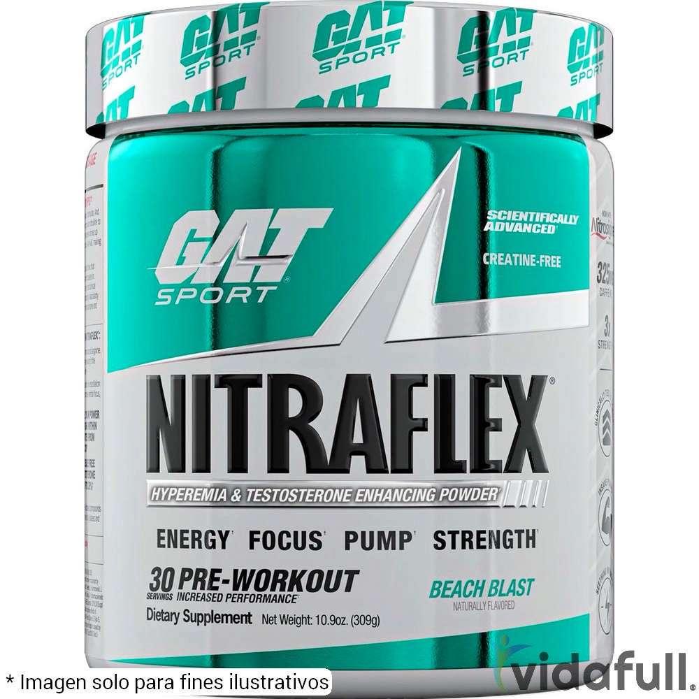 Nitraflex GAT Pre-Entrenamiento de GAT Bajar de Peso Bien