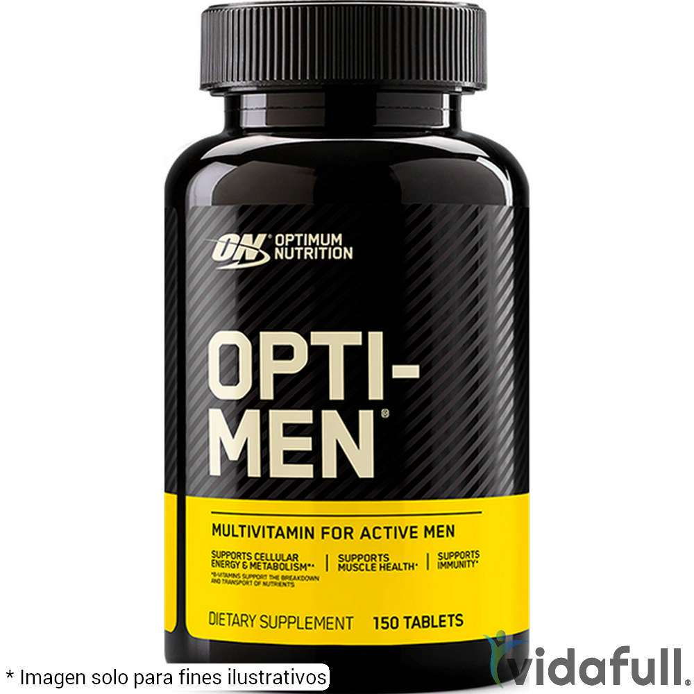 Opti Men ON Vitaminas y minerales de ON Optimum Nutrition Bajar de Peso Bien