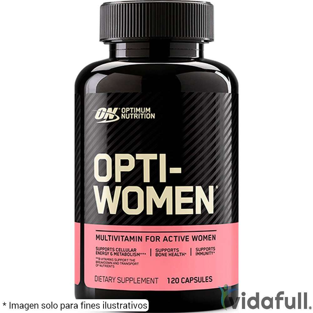 Opti Women ON Vitaminas y minerales de ON Optimum Nutrition Bajar de Peso Bien