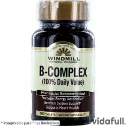 B Complex 100% Complejo B de Windmill