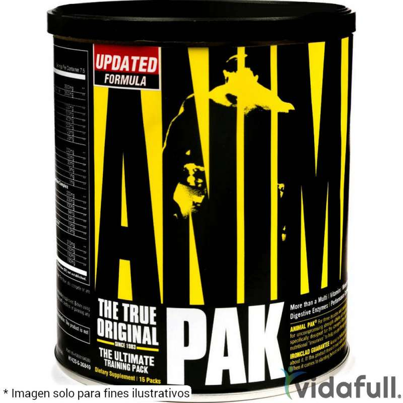 Animal Pak 15 pack Universal Nutrition