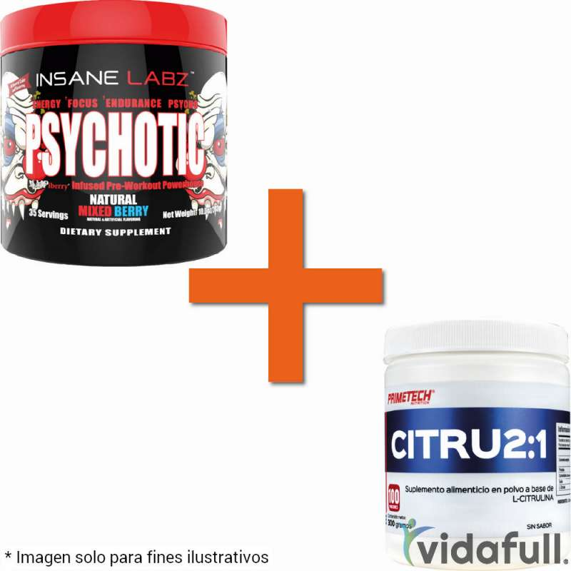 Combo Energy Psychotic + CITRU2:1