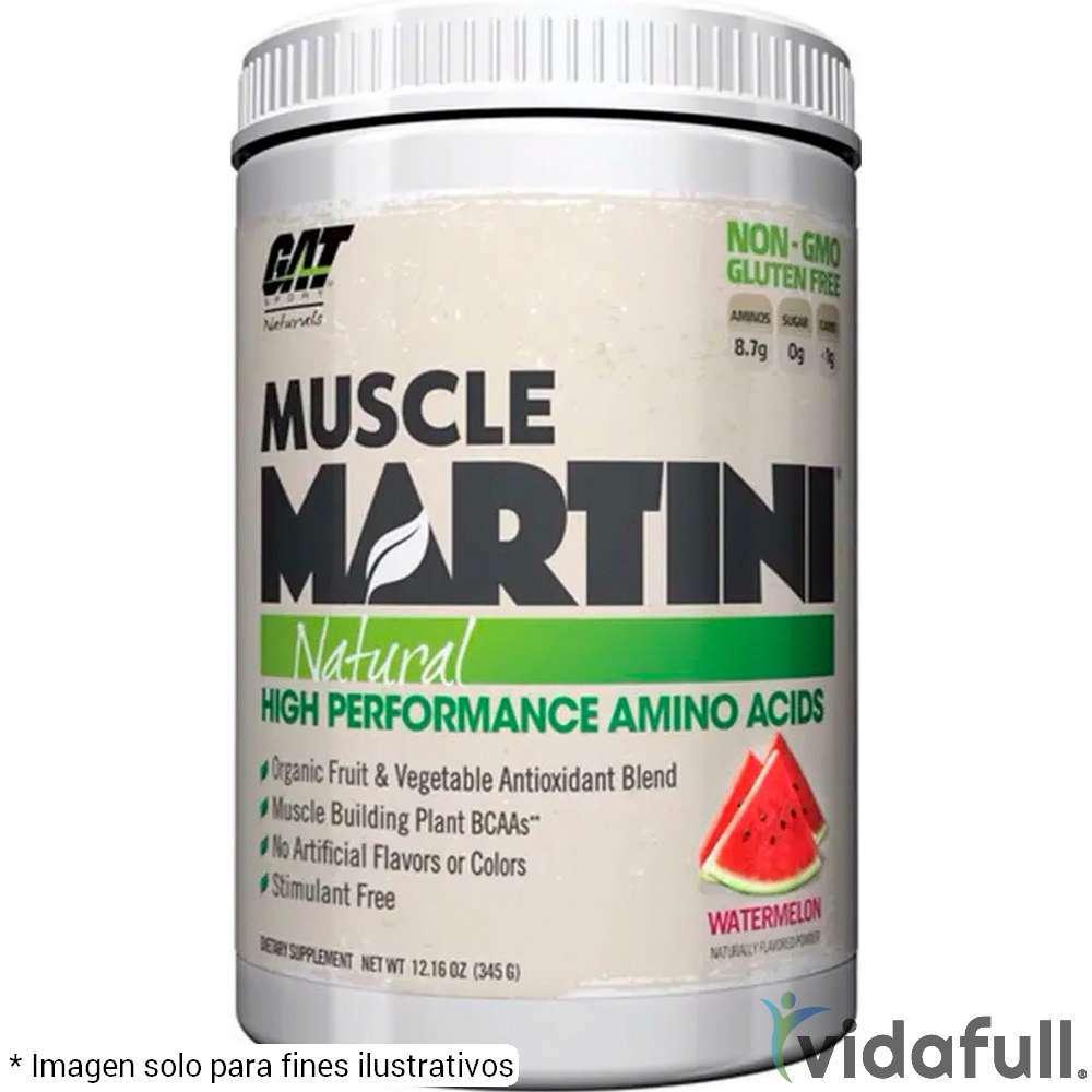 Muscle Martini GAT Aminoácidos de GAT Bajar de Peso Bien