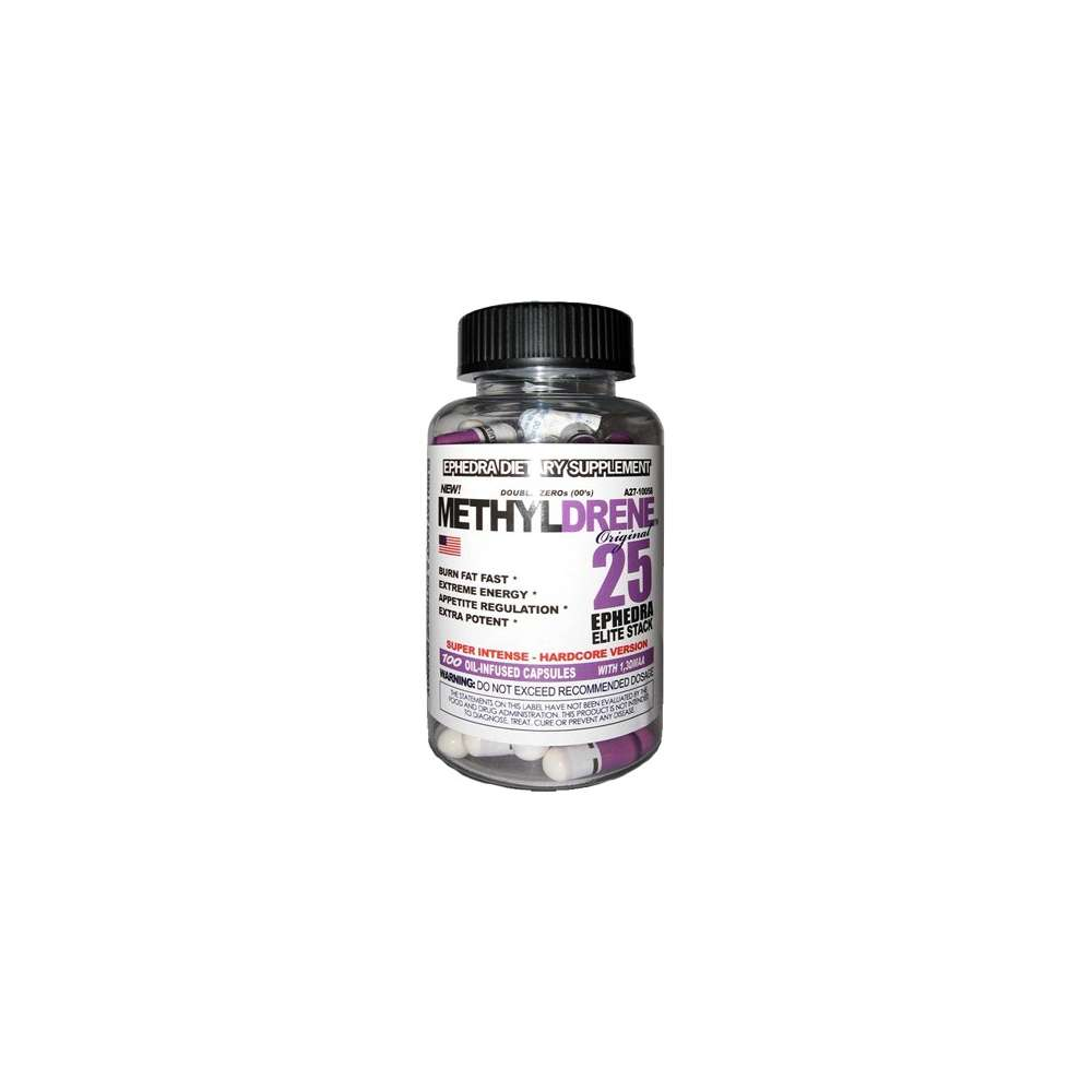Methyldrene 25 Elite Cloma Pharma Termogénicos de Cloma Pharma Ganar musculo y marcar musculo