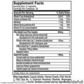 Hydroxycut Ultra Muscletech información nutrimental