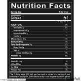 MRE BAR Redcon1 información nutrimental