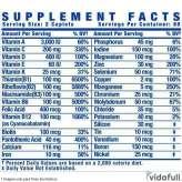 Vita XS Ronnie Coleman información nutrimental