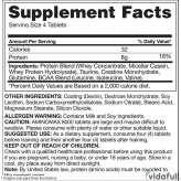 Aminomax 8000 Gaspari información nutrimental