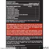 Anabol 5 Black Nutrex información nutrimental