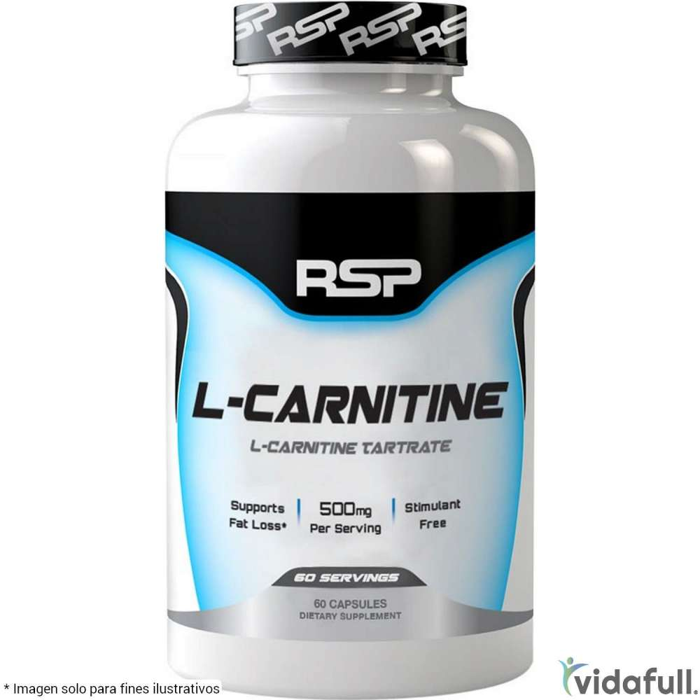 L-Carnitina RSP Carnitina de RSP Nutrition Ganar musculo y marcar musculo