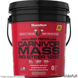 Carnivor Mass Big Steer 1250 15lb Musclemeds