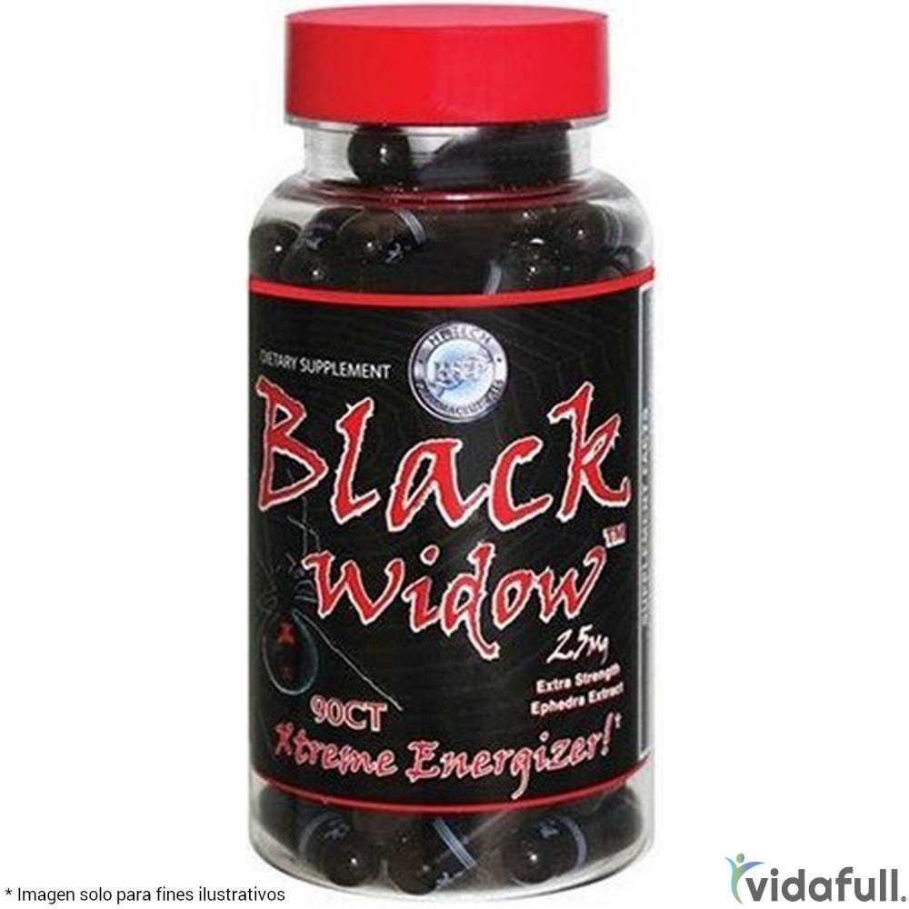 Black Widow Hi Tech Termogénicos de Hi-Tech Pharmaceuticals Bajar de Peso Bien