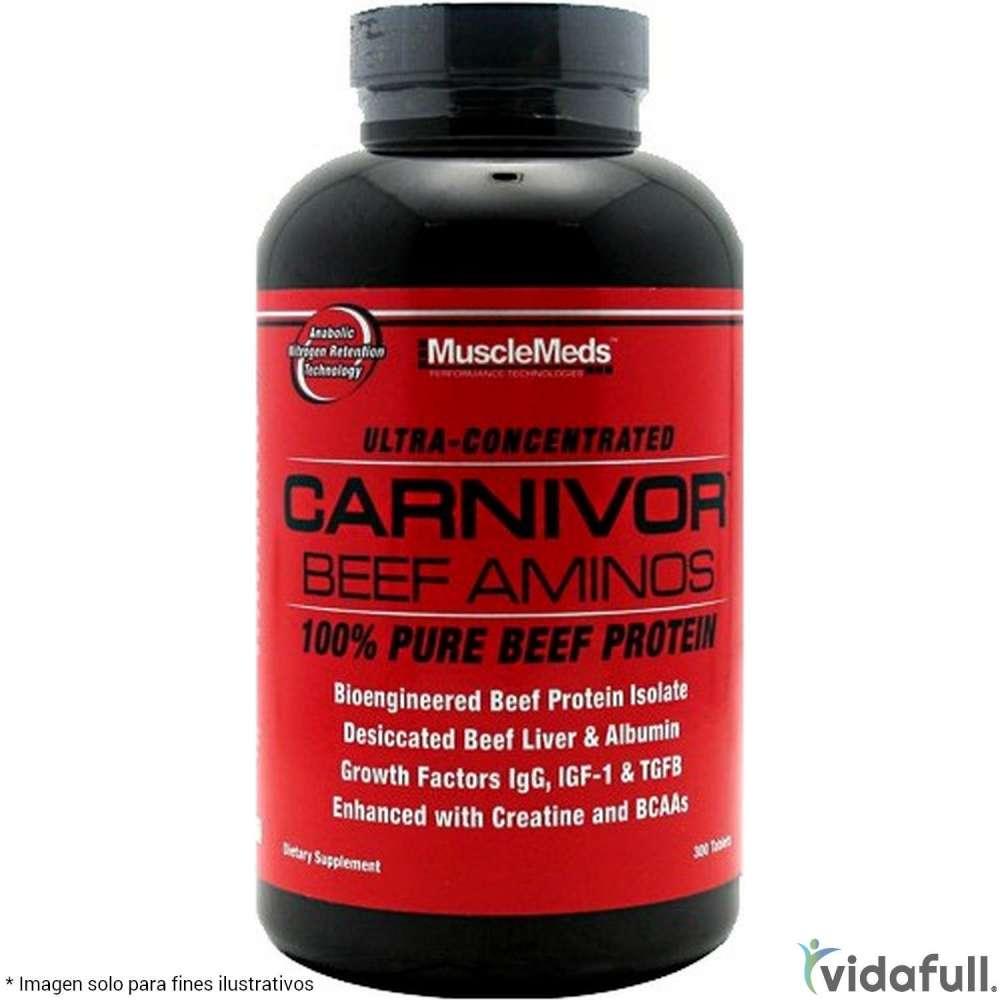 Carnivor Beef Aminos MuscleMeds Aminoácidos de MuscleMeds Bajar de Peso Bien