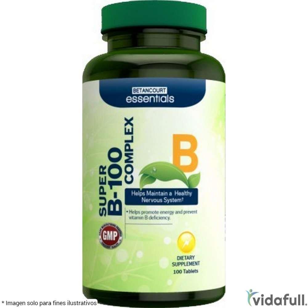 Complejo B Betancourt Vitaminas y minerales de Betancourt Nutrition Bajar de Peso Bien