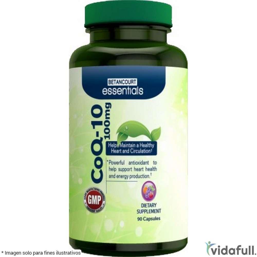 CoQ 10 Antioxidante Betancourt Vitaminas y minerales de Betancourt Nutrition Bajar de Peso Bien