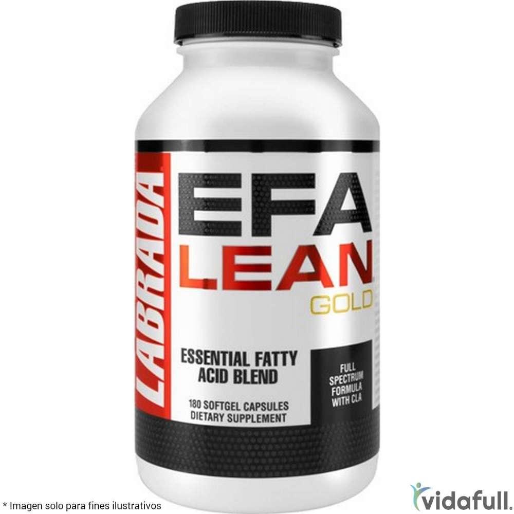 EFA Lean Gold Omega Labrada Ácidos Grasos de Labrada Bajar de Peso Bien