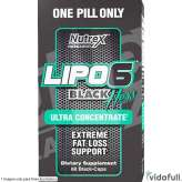Lipo 6 Black Hers Ultra Concentrate Nutrex