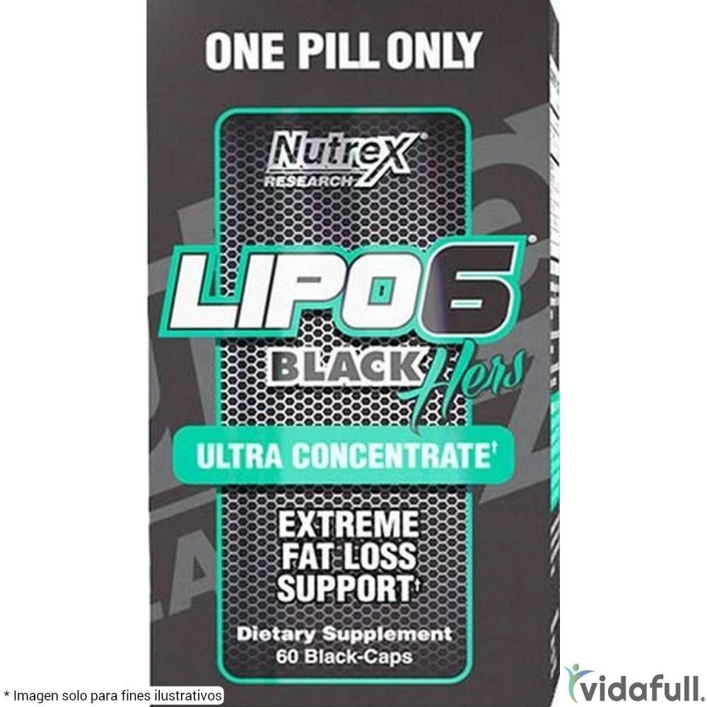Lipo 6 Black Hers Ultra Concentrate Nutrex Termogénicos de Nutrex Bajar de Peso Bien