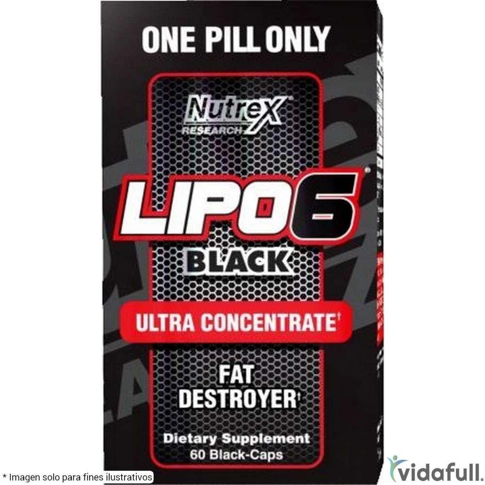 Lipo 6 Black Ultra Concentrate Nutrex Termogénicos de Nutrex Bajar de Peso Bien