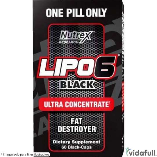 Lipo 6 Black Ultra Concentrate Nutrex