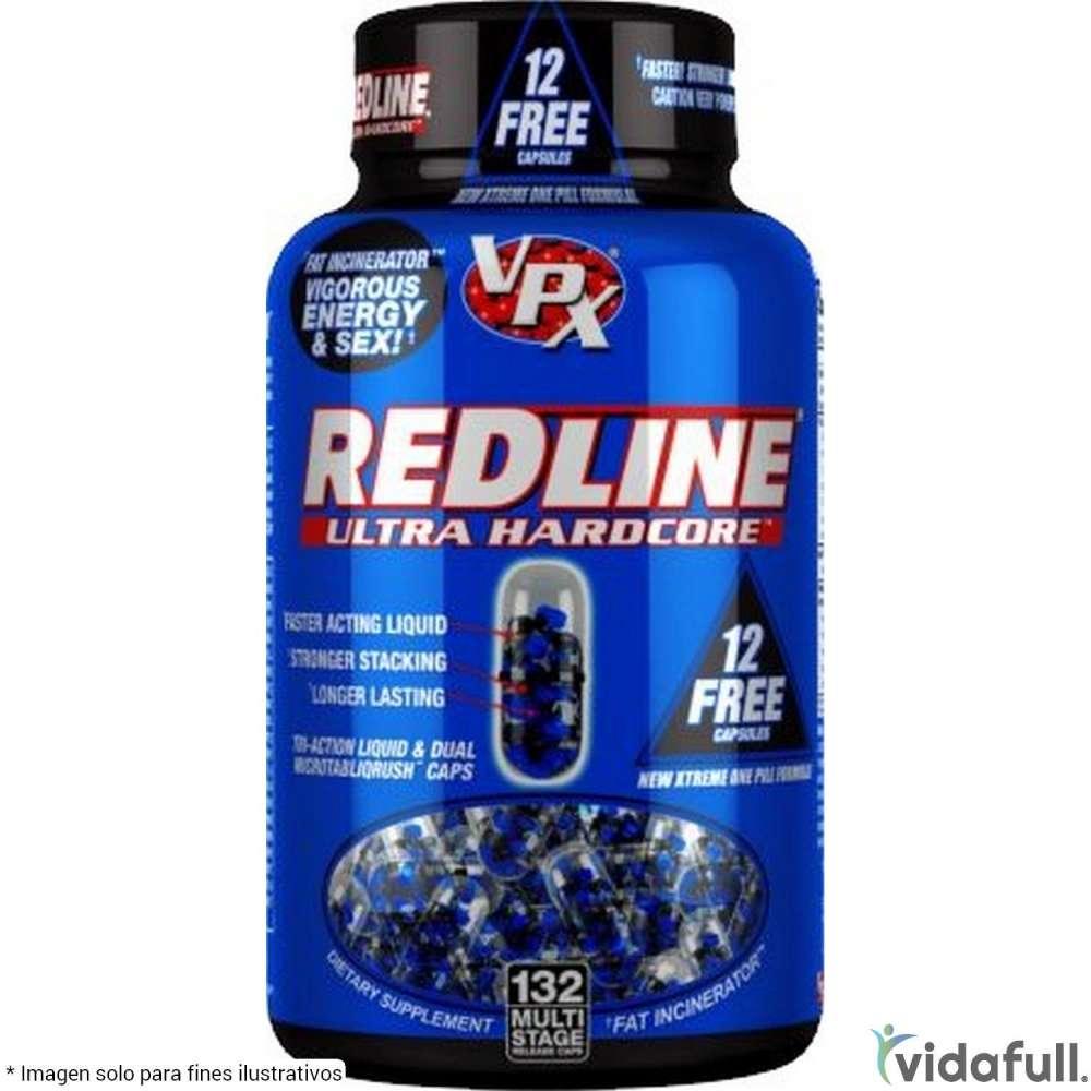 Redline Ultra Hardcore VPX Termogénicos de VPX Bajar de Peso Bien