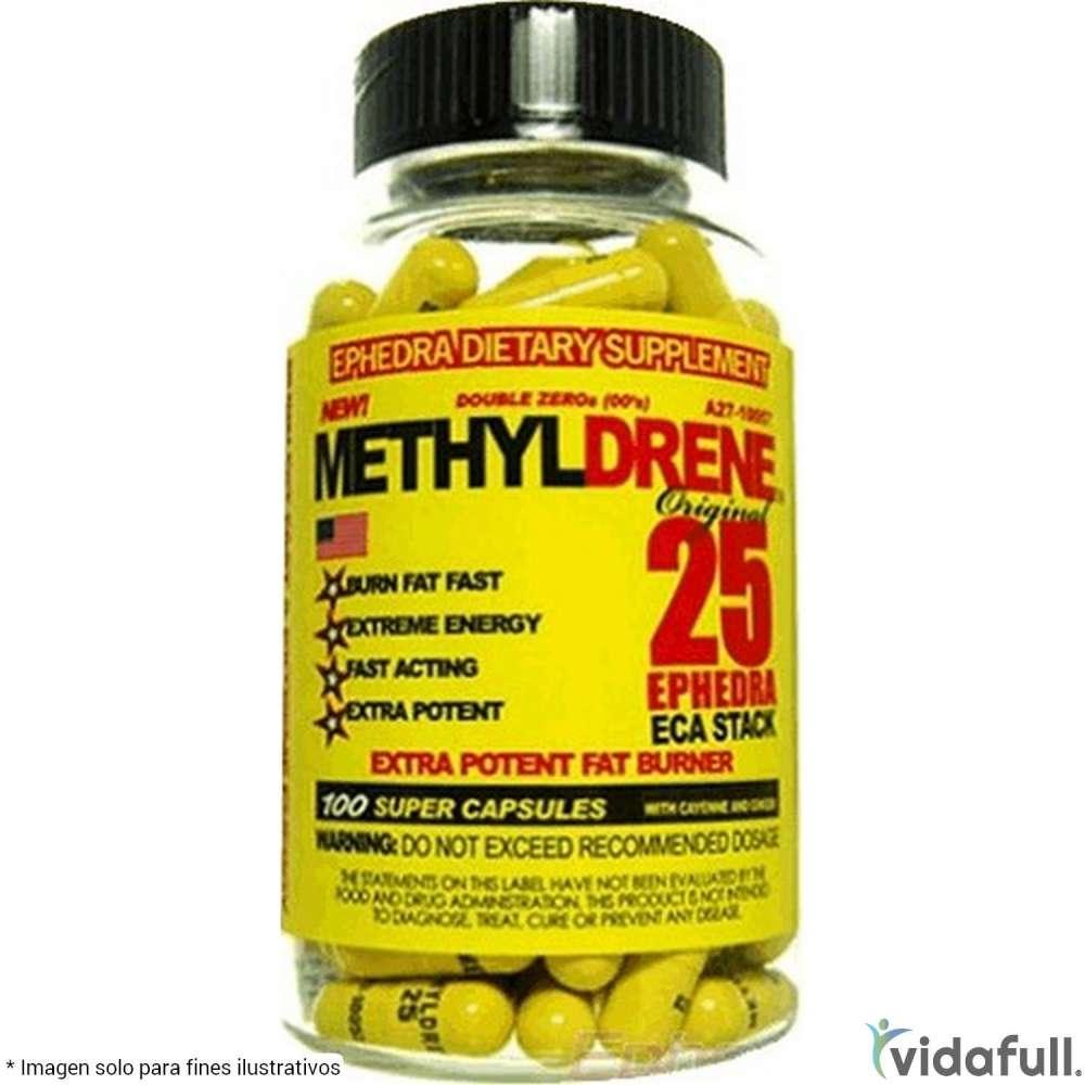 Methyldrene 25 Cloma Pharma Termogénicos de Cloma Pharma Bajar de Peso Bien