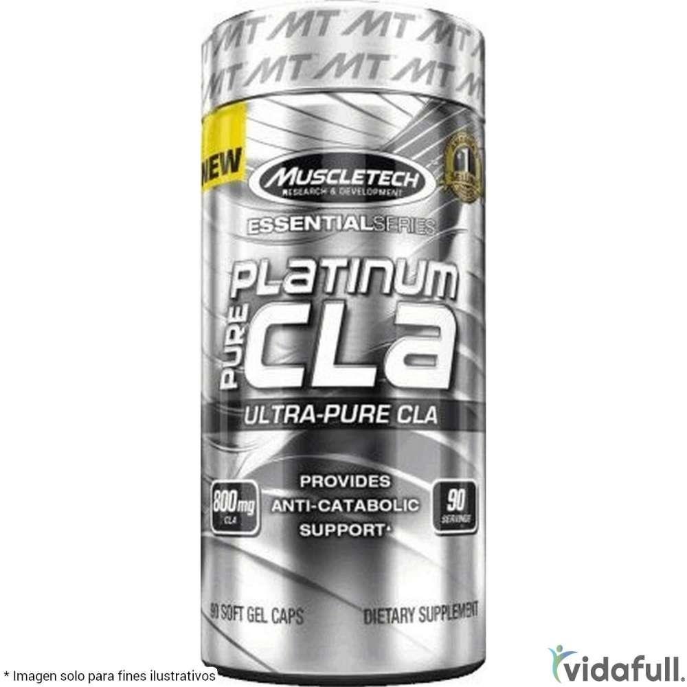 Platinum Pure CLA Muscletech Ácidos Grasos de Muscletech Bajar de Peso Bien
