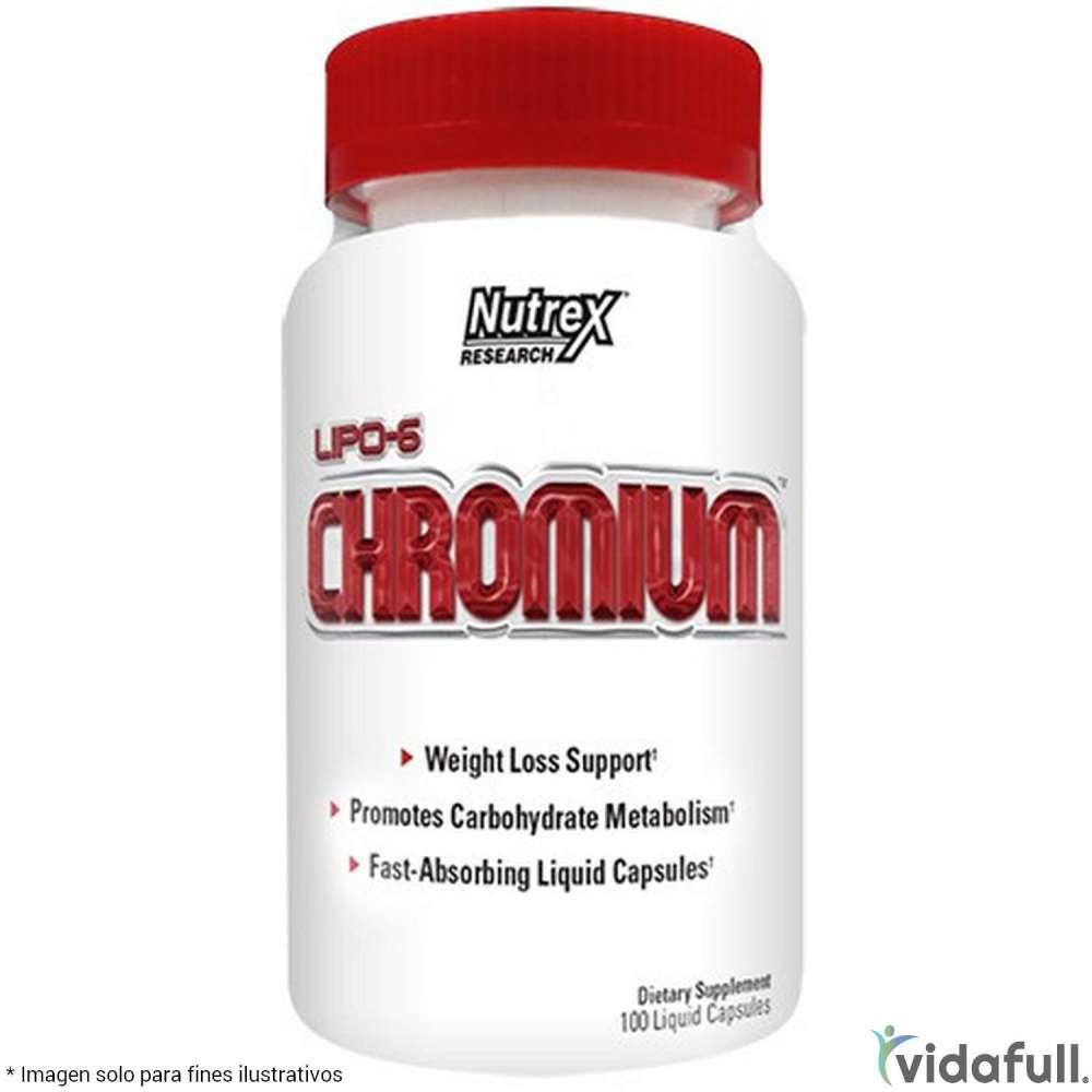 Lipo 6 Chromium Nutrex Ácidos Grasos de Nutrex Bajar de Peso Bien