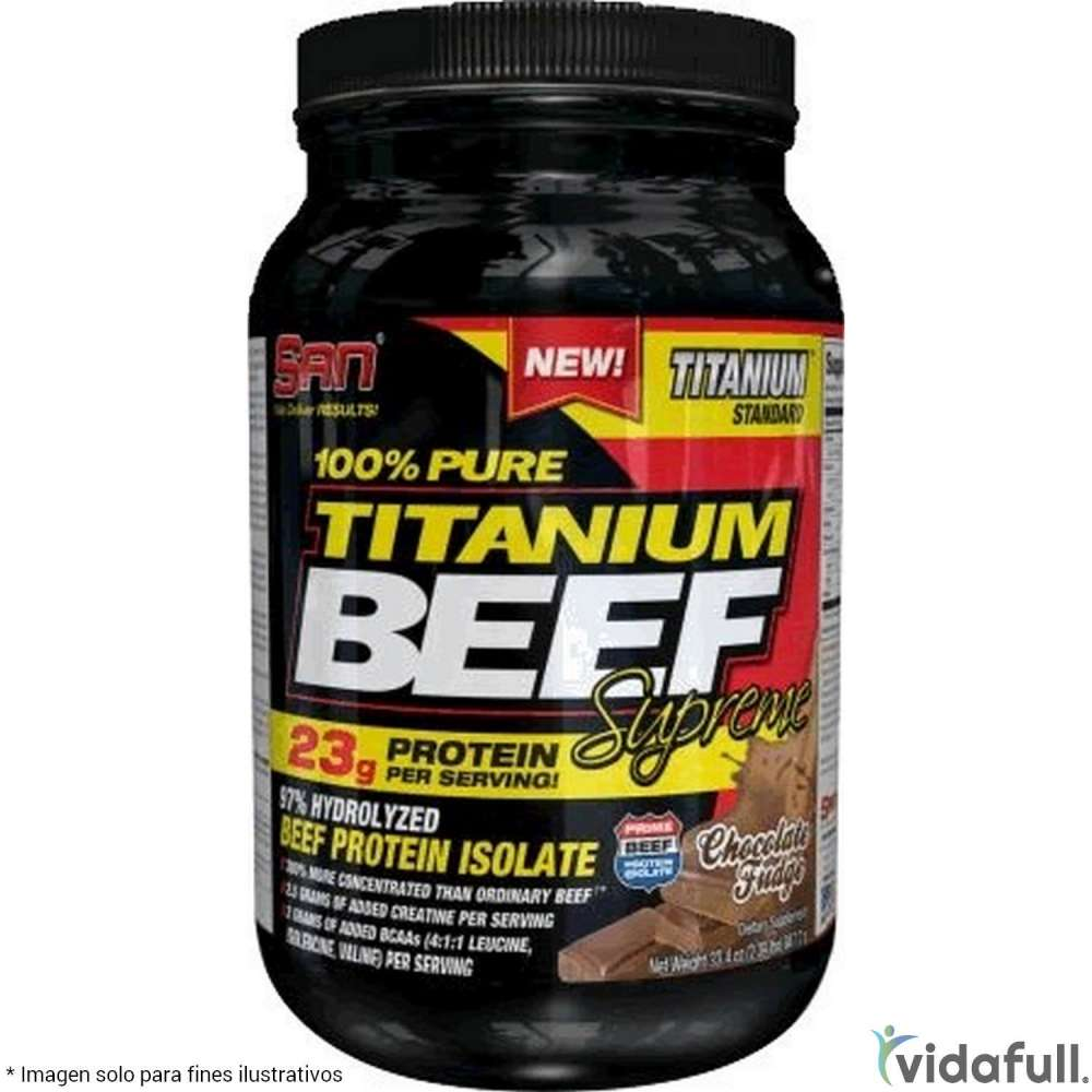 100% Pure Titanium Beef SAN Proteína de SAN Bajar de Peso Bien