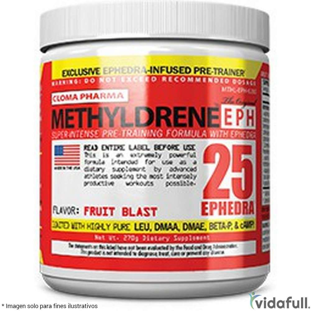 Methyldrene EPH Cloma Pharma Pre-Entrenamiento de Cloma Pharma Bajar de Peso Bien