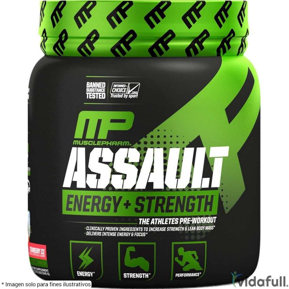 Assault MusclePharm Pre-Entrenamiento de MusclePharm Bajar de Peso Bien