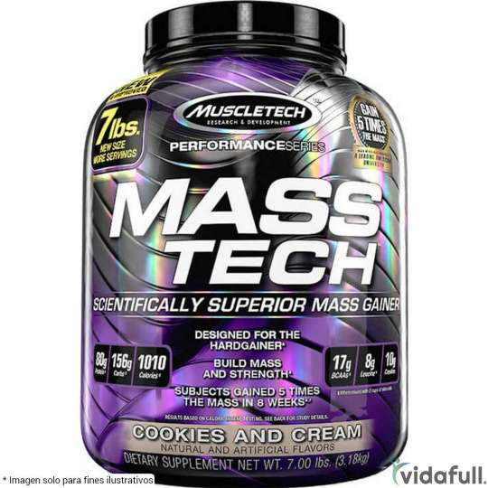 Mass Tech Muscletech Cookies & Cream