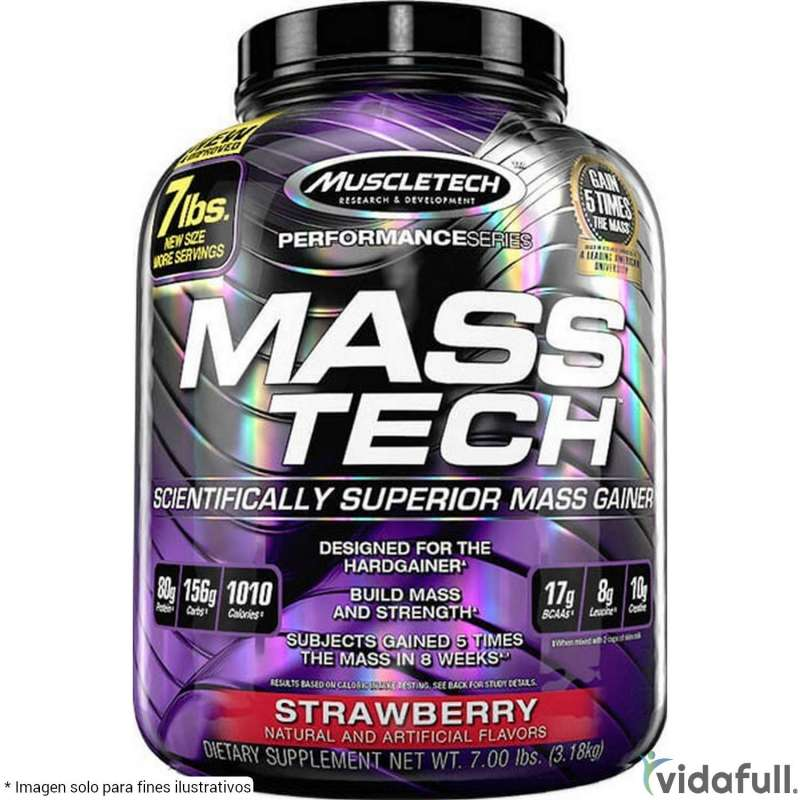 Mass Tech Muscletech Fresa facts