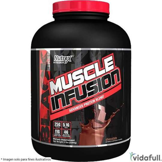 Muscle Infusion Black Proteina Nutrex Proteína de Nutrex Ganar musculo y marcar musculo