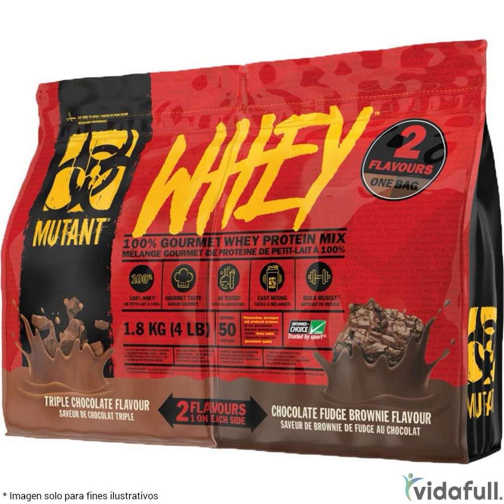 Mutant Whey Dual Proteína de Mutant Nutrition Ganar musculo y marcar musculo