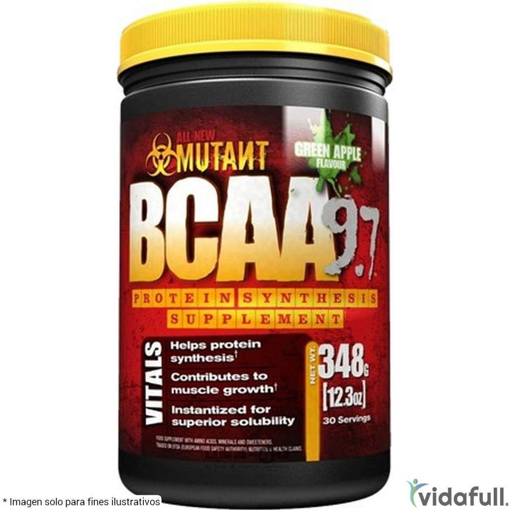 BCAA 9.7 Mutant Aminoácidos de Mutant Nutrition Bajar de Peso Bien