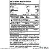 BCAA 9.7 Mutant información nutrimental