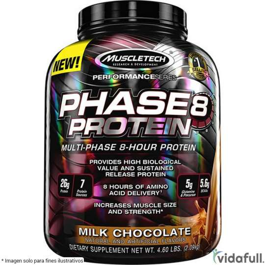 Phase 8 Muscletech Proteína de Muscletech Ganar musculo y marcar musculo