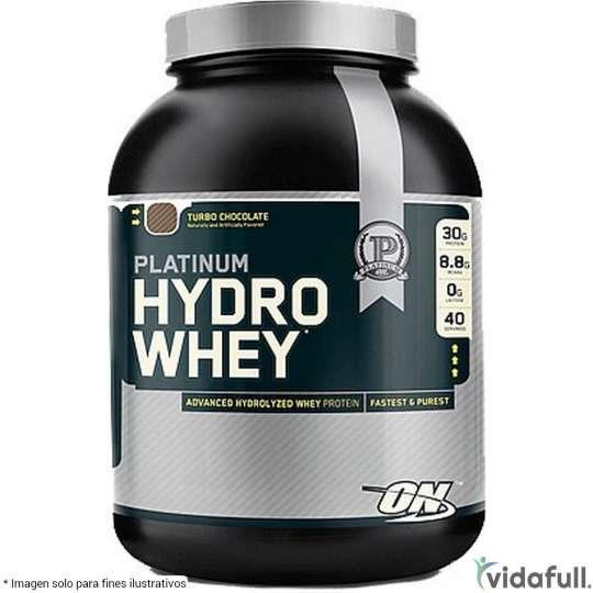 Platinum HydroWhey ON Proteína de ON Optimum Nutrition Ganar musculo y marcar musculo