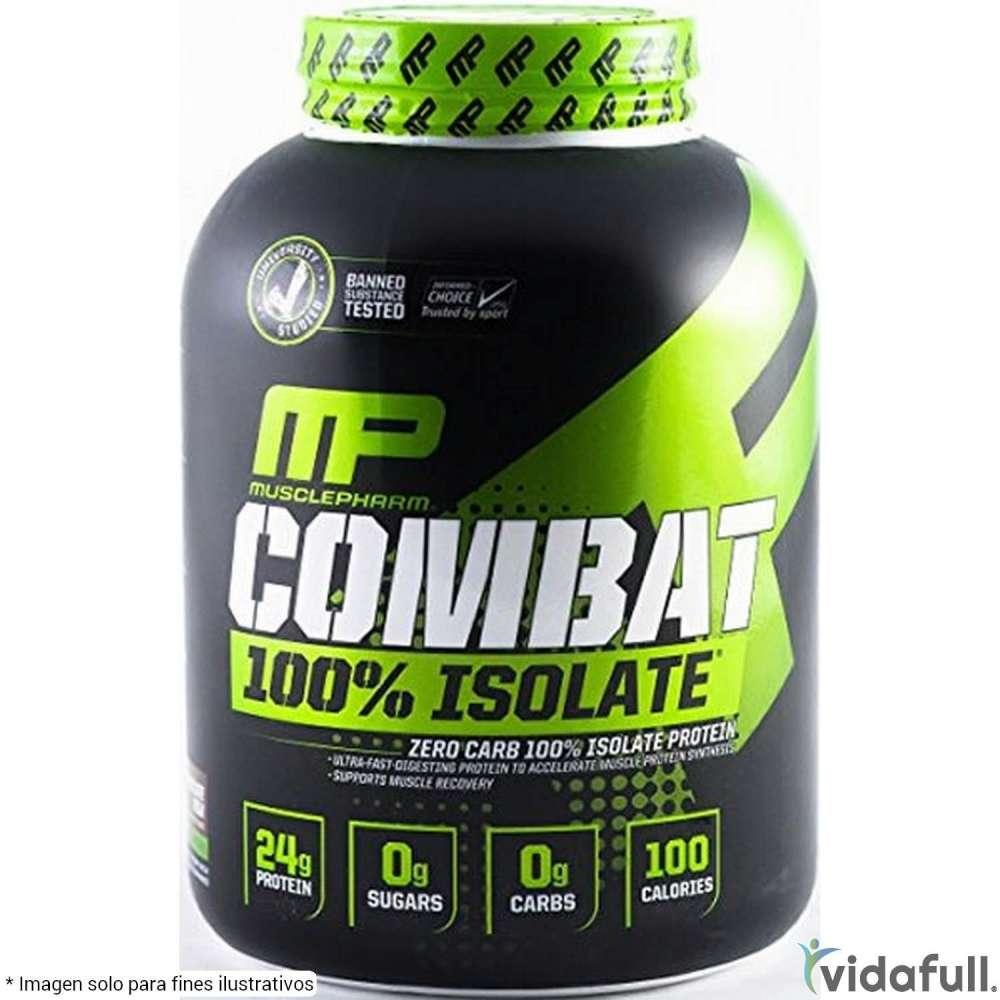 Combat 100% Isolate MusclePharm Proteína de MusclePharm Bajar de Peso Bien