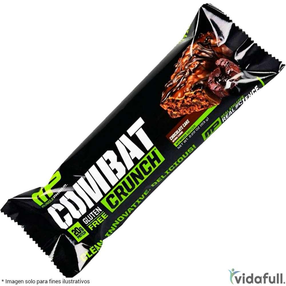Combat Crunch Bar MusclePharm Proteína de MusclePharm Ganar musculo y marcar musculo
