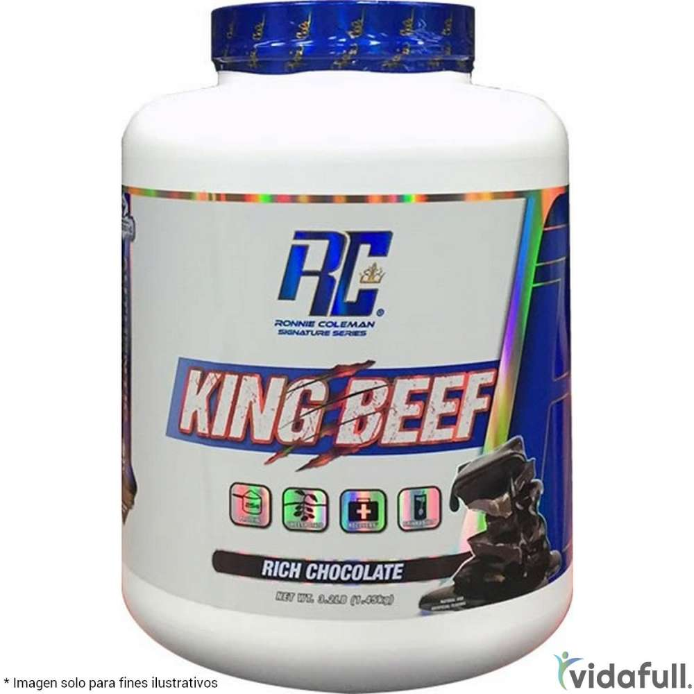 King Beef Isolate Ronnie Coleman Proteína de Ronnie Coleman Signature Series Bajar de Peso Bien