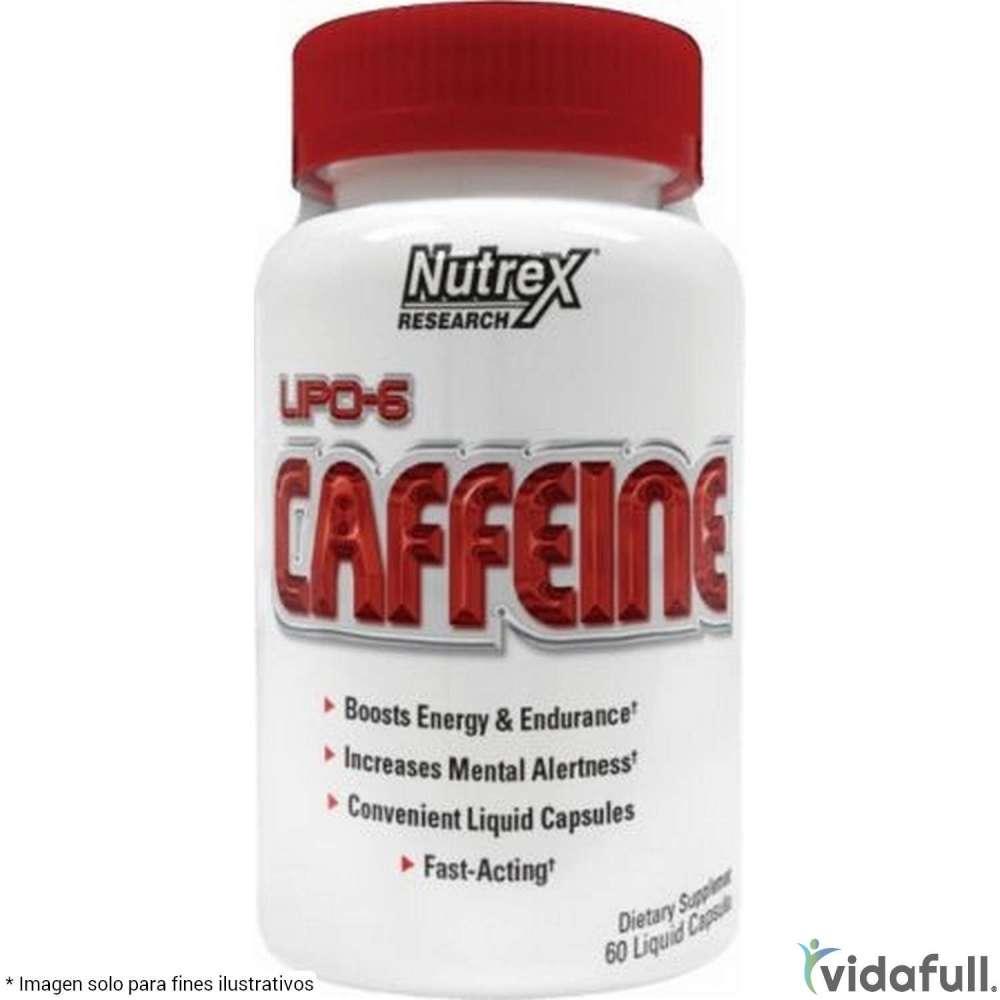 Lipo 6 Caffeine Nutrex Termogénicos de Nutrex Bajar de Peso Bien